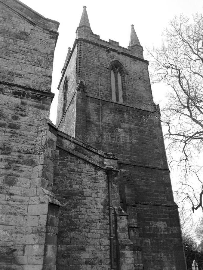 Церковь на канонах ashby стоковая фотография