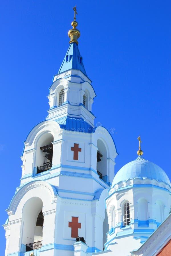 Церковь на солнечный день стоковая фотография