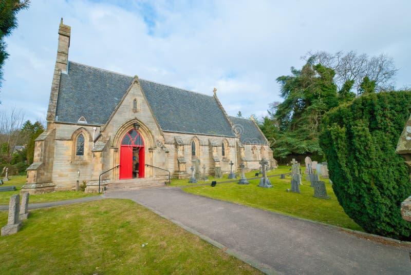Церковь на Dunblane стоковая фотография rf