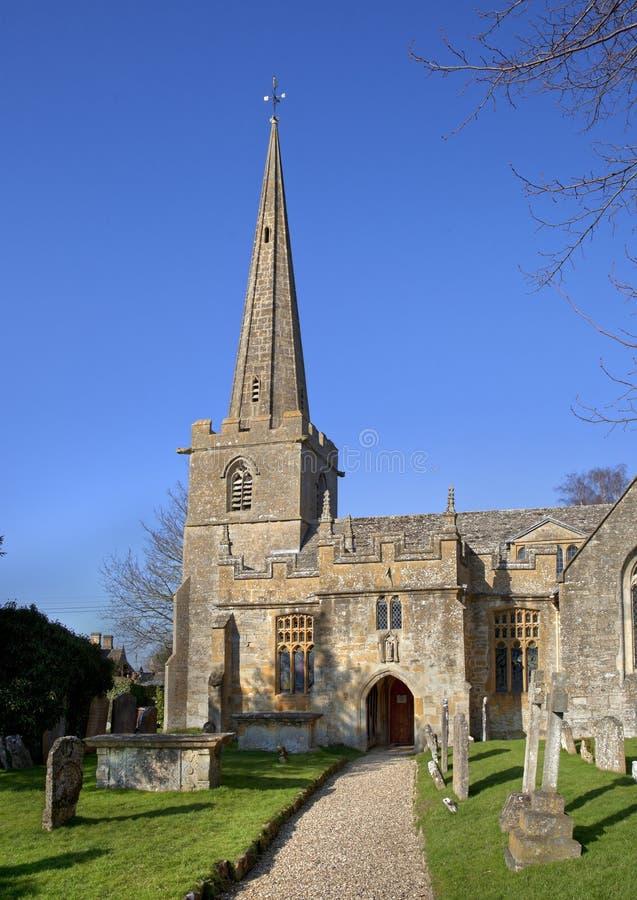Церковь на Stanton стоковое фото rf