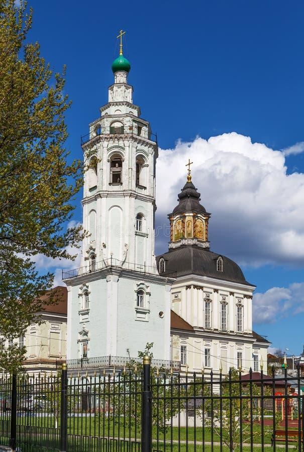 Церковь Николас-Zaretsky, Тула, Россия стоковое изображение rf