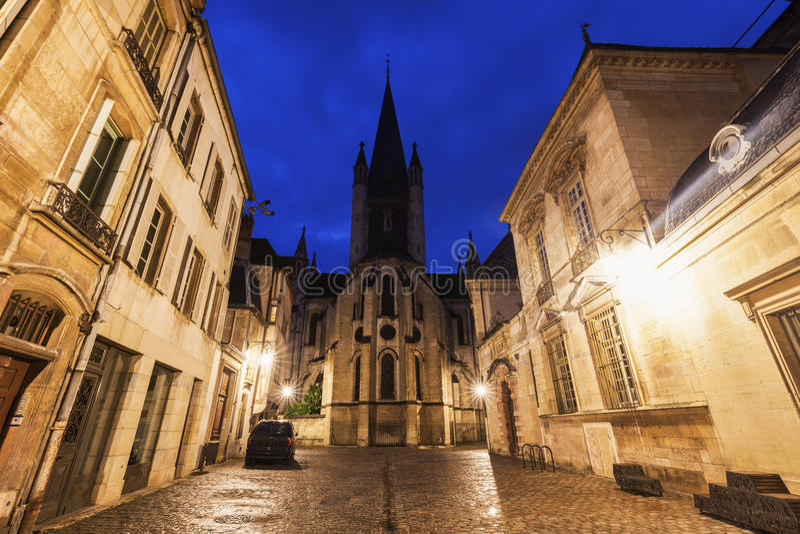 Церковь Нотр-Дам Дижона стоковая фотография
