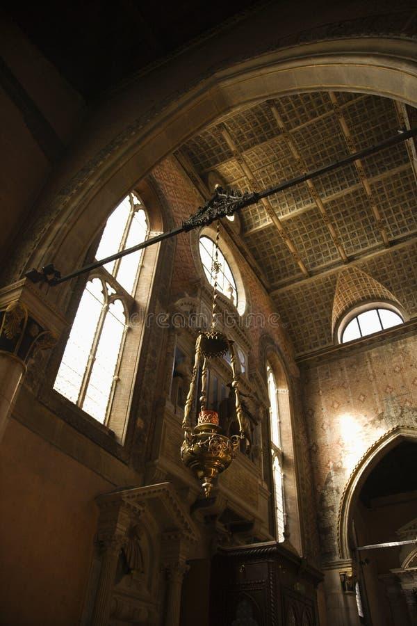 церковь нутряная Италия venice стоковое фото