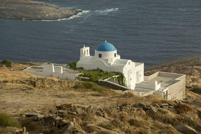 Церковь острова стоковое изображение rf