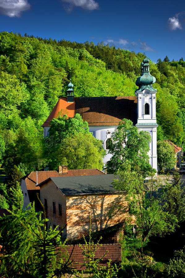 Download Церковь паломничества девой марии Стоковое Фото - изображение насчитывающей собор, история: 40591256