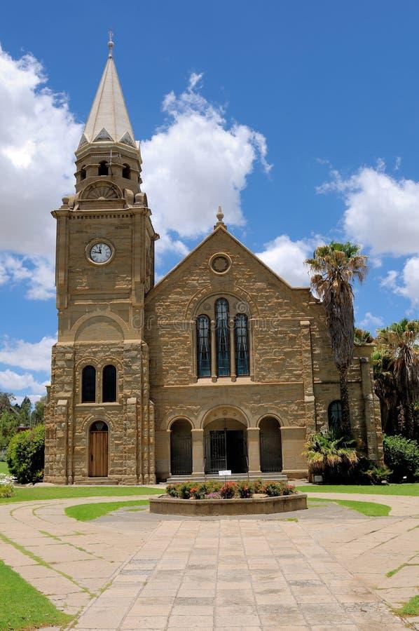 Церковь песчаника, Clarens, Южная Африка стоковые фотографии rf