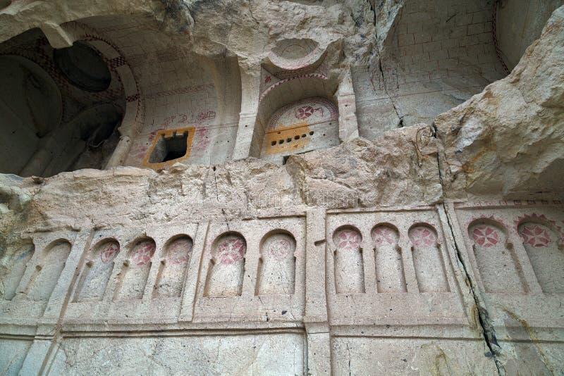 Церковь пещеры в Cappadocia, Турции стоковое фото rf