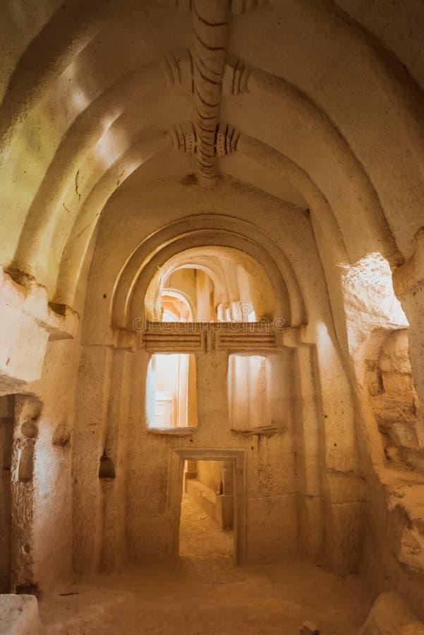 Церковь пещеры в Cappadocia, Турции стоковое изображение rf