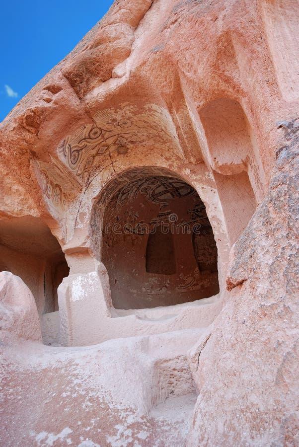 Церковь пещеры, Cappadocia, Турция стоковые изображения