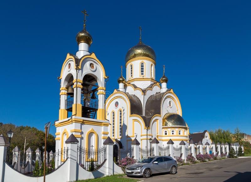 Церковь подателя страсти Святого царственного Курск Россия стоковые фото