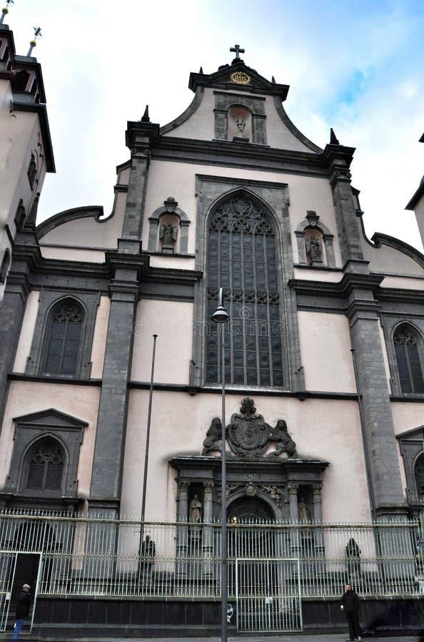 Церковь предположения благословленной девой марии в Кёльне стоковое фото rf