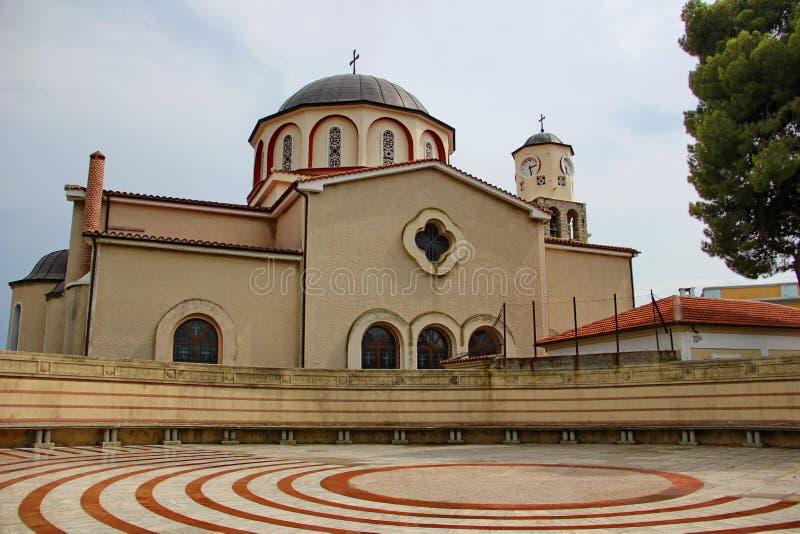 Церковь предположения благословленной девой марии стоковая фотография