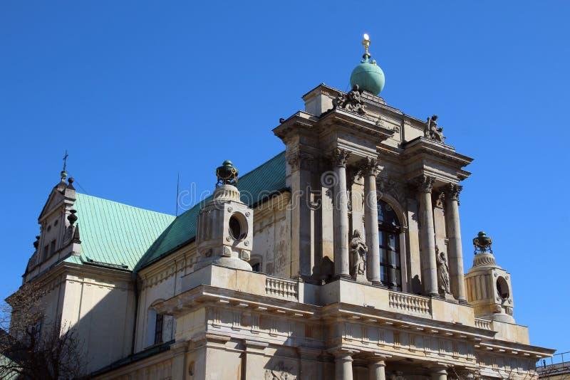 Церковь предположения девой марии и St Joseph, Варшавы стоковые изображения rf