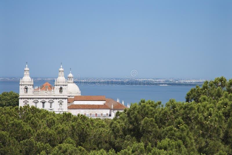 церковь прибрежный lisbon Португалия стоковое фото rf