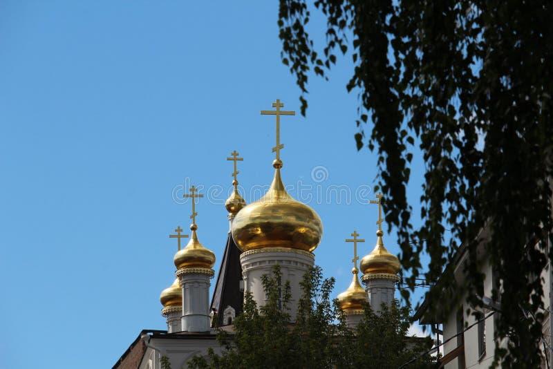 Церковь пророка Iliya, Nizhny Novgorod стоковое изображение rf