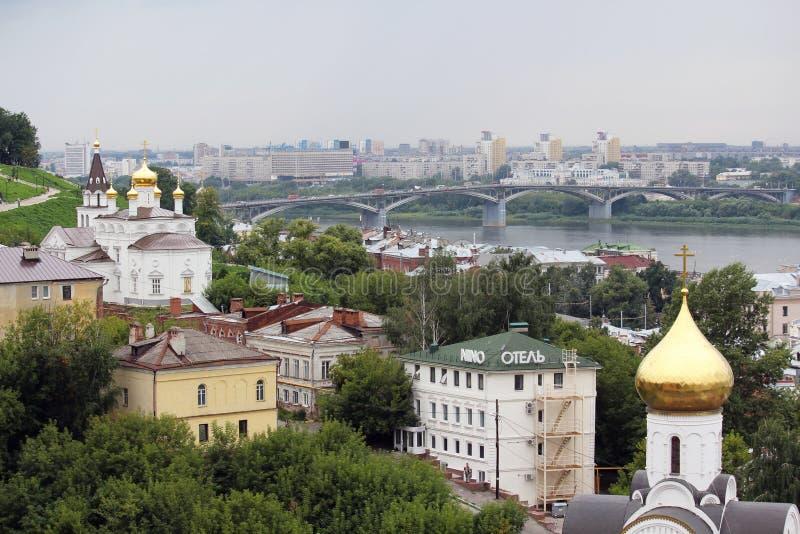 Церковь пророка Iliya, Nizhny Novgorod стоковое фото