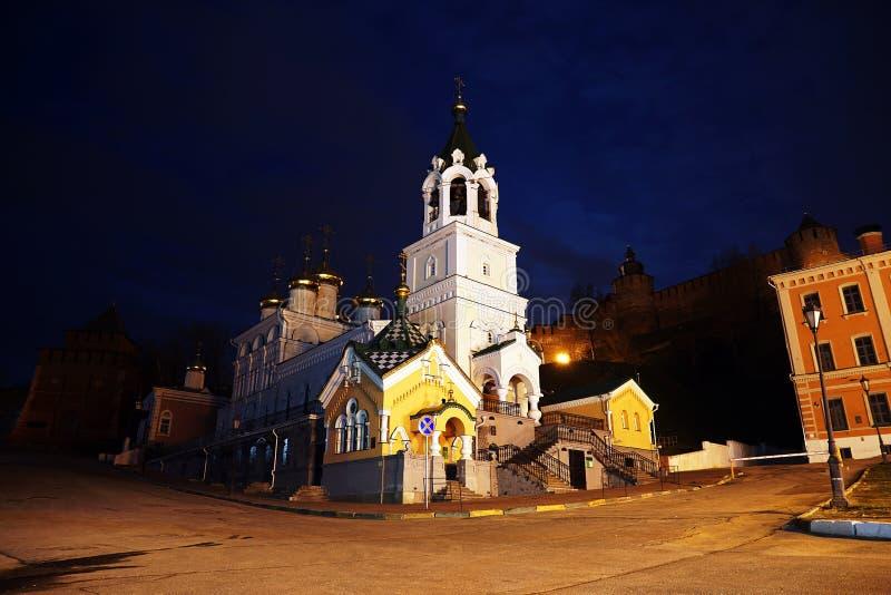 Церковь рождества Иоанна Крестителя России, Nizhny n стоковые фото