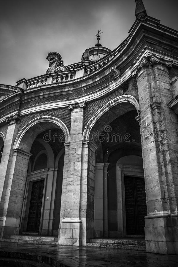 Download Церковь Сан Антонио. Дворец Аранхуэса, Мадрида, Spain.World H Стоковое Изображение - изображение насчитывающей памятник, ведущего: 37926691