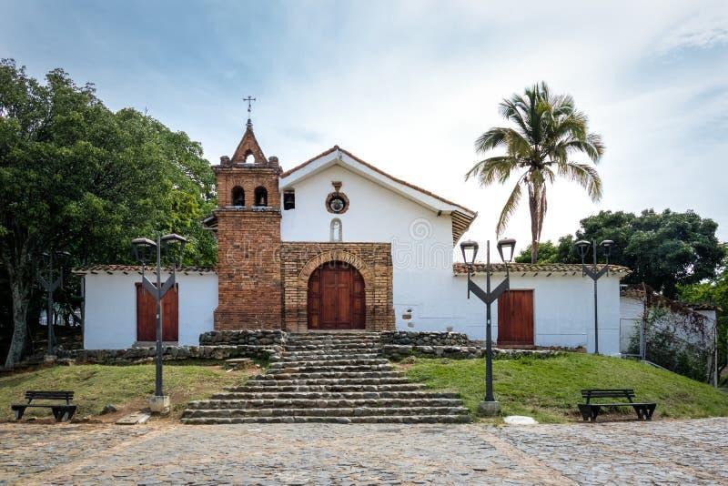 Церковь Сан Антонио - Cali, Колумбия стоковое изображение