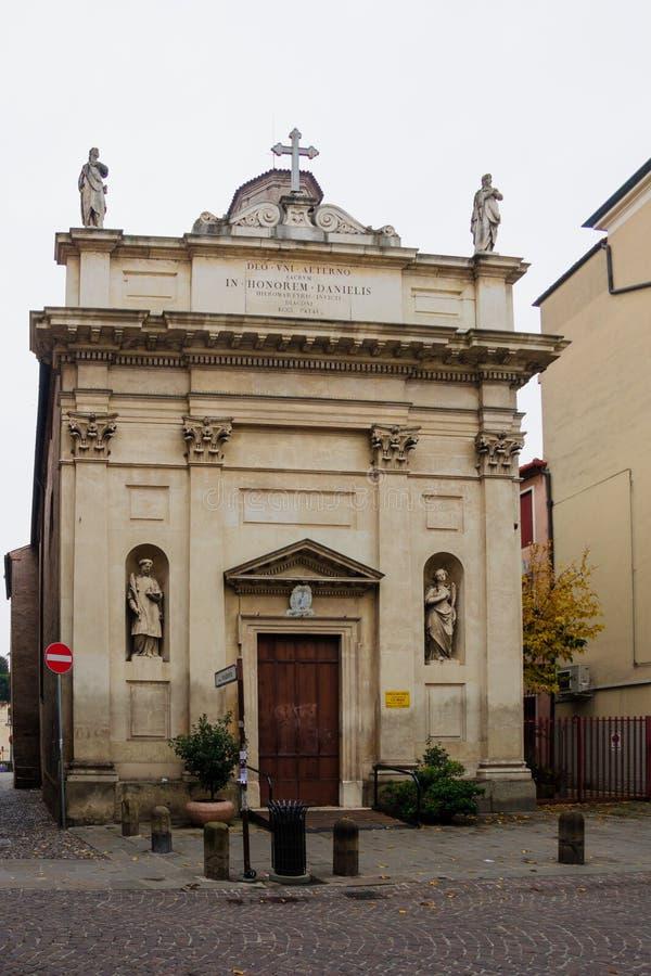 Церковь Сан Daniele, Падуя стоковые фото