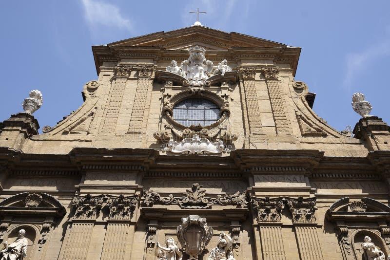 Церковь Сан Gaetano в Флоренсе стоковое фото