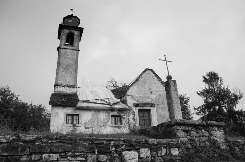Церковь Сан Liberale стоковое изображение rf