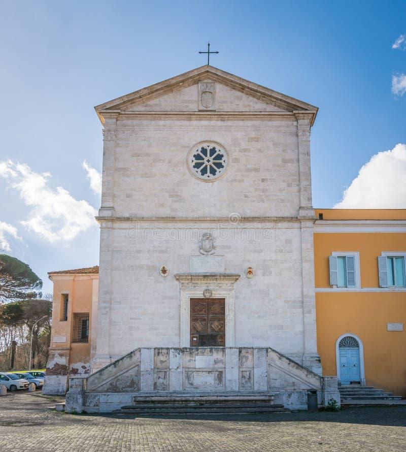 Церковь Сан Pietro в Montorio в Риме, Италии стоковая фотография