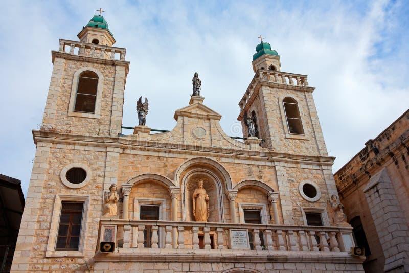 Церковь свадьбы Cana - Израиль стоковые фотографии rf