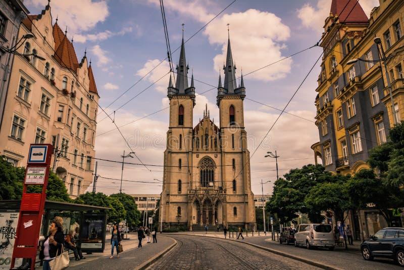 Церковь Святого Антония Падуи в Праге, чехии стоковые изображения