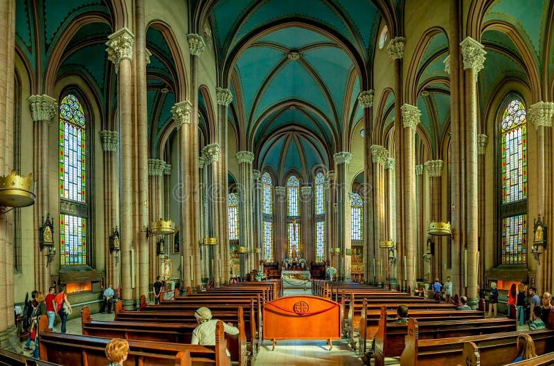 Церковь Святого Антония, Стамбула стоковое изображение