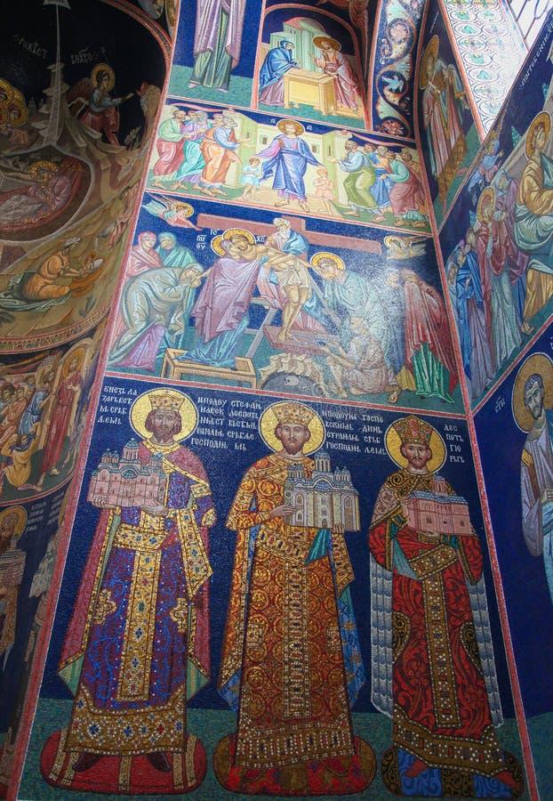Церковь Святого Sava в Белграде, Сербии стоковые изображения rf