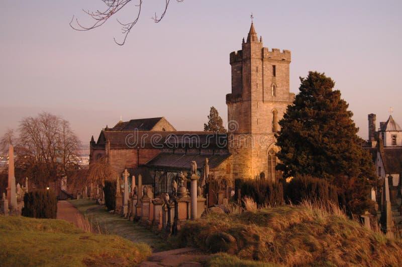 Церковь святое грубого, Стерлинг стоковое фото rf