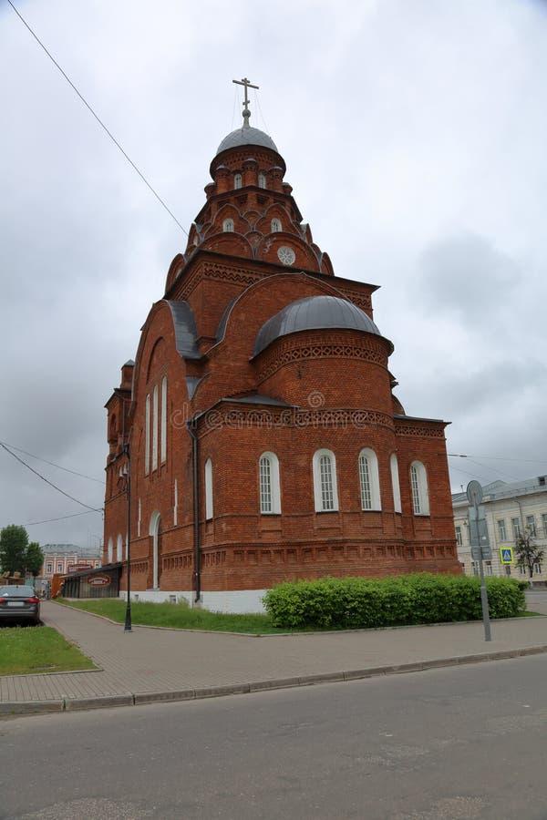 Церковь святой троицы, Владимир, Россия стоковые изображения