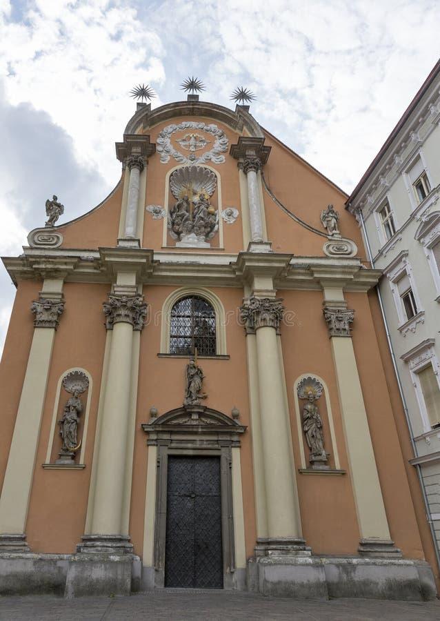 Церковь святой троицы в Граце, Австрии стоковые изображения rf