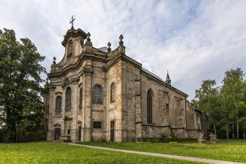 Церковь святой троицы стоковое изображение rf