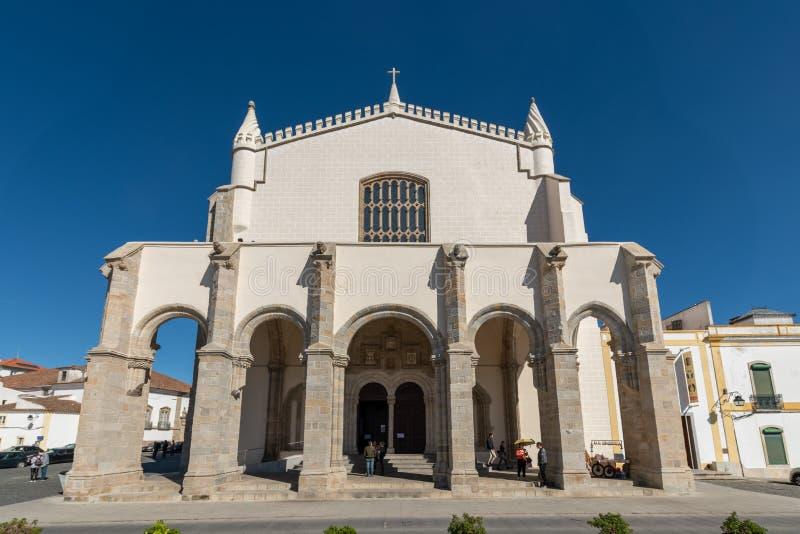 Церковь Св.а Франциск Св. Франциск или часовни косточек стоковые изображения rf
