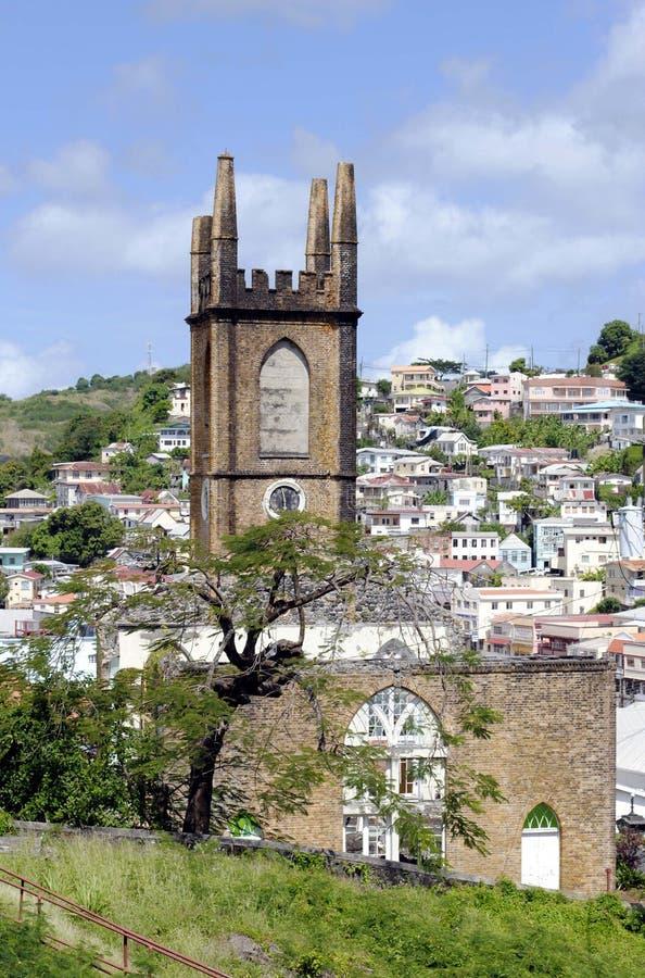 Церковь Сент-Эндрюса пресвитерианская стоковая фотография rf