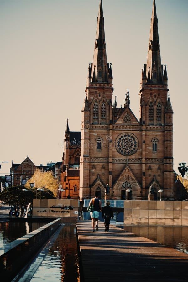 Церковь Сидней собора St Mary стоковое изображение