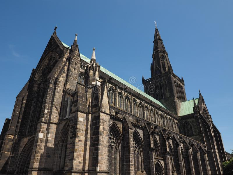 Церковь собора Глазго стоковые фотографии rf