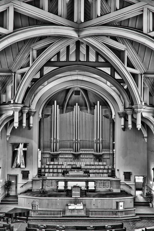 церковь соединенный saskatoon Канады стоковое фото