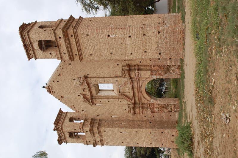 церковь старая остает испанской стоковое изображение rf