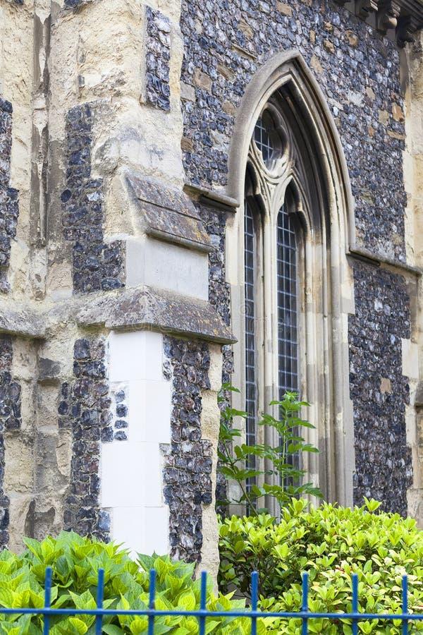 Церковь стиля двенадцатого века румынская St Mary девственница, Дувр, Великобритания, Лондон, Великобритания стоковая фотография rf