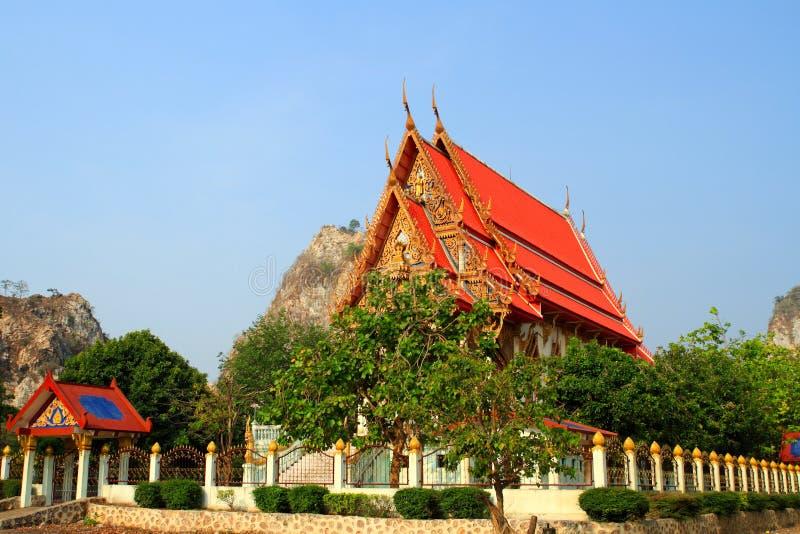 Церковь Таиланда стоковое фото
