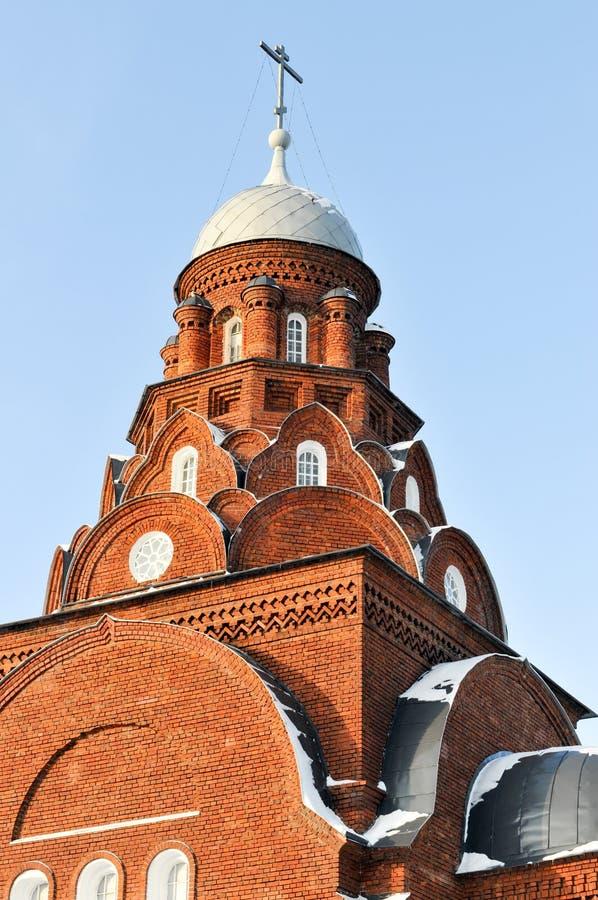Церковь троицы - Владимир, Россия стоковые изображения rf