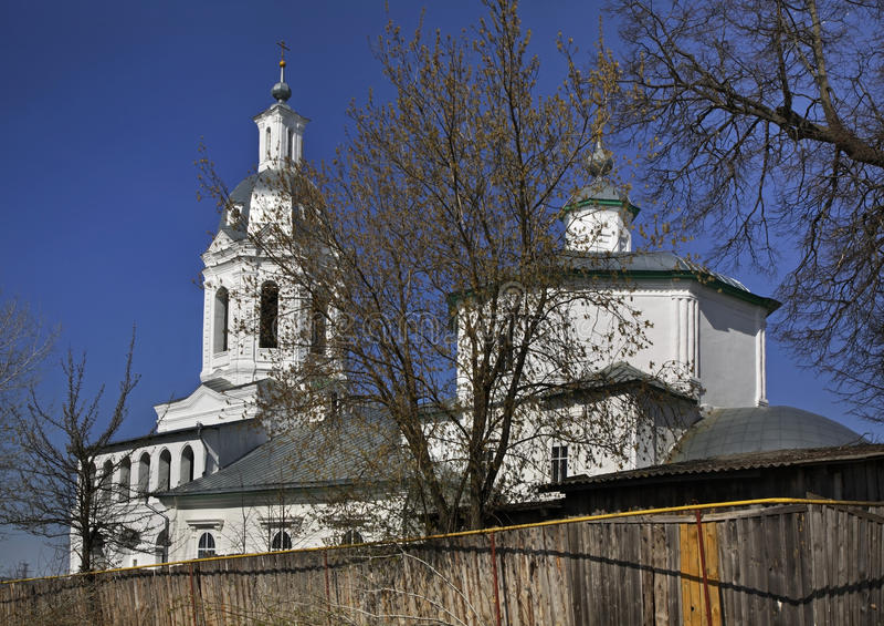 Церковь троицы в Kasimov стоковое изображение rf