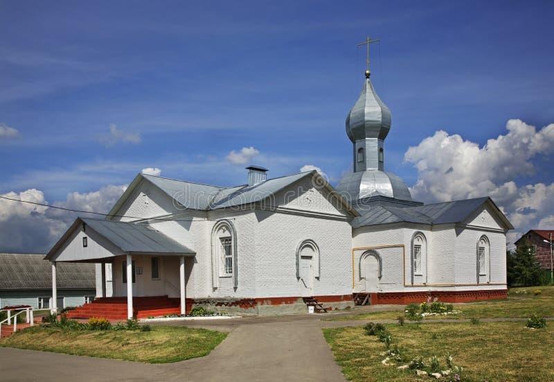 Церковь троицы в Lukhovitsy Россия стоковая фотография