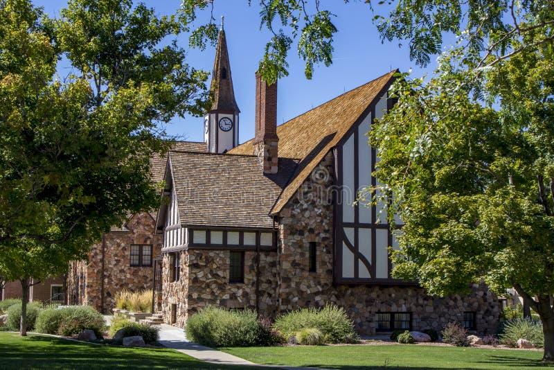 Церковь утеса Cedar City стоковое фото