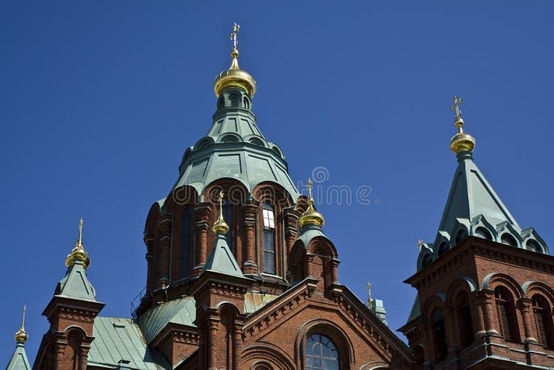 церковь Финляндия стоковое изображение