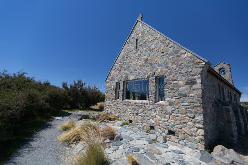 Церковь хорошего чабана, озеро Tekapo, Новая Зеландия стоковые изображения