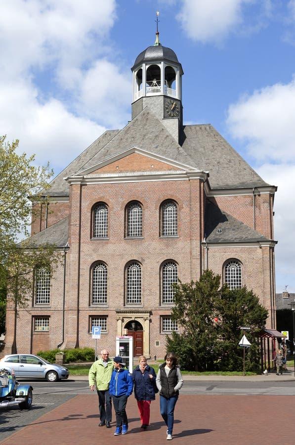 Церковь Христоса и прихожанины, Emmerich стоковые изображения rf